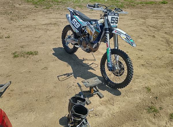 バイクのメンテナンス