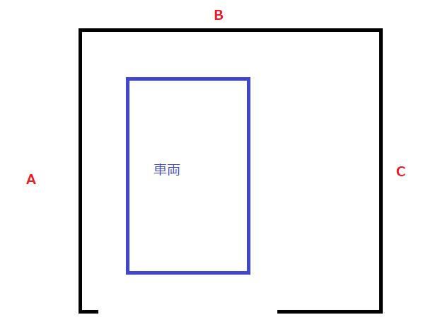 ガレージ図