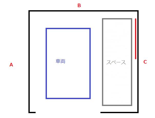 ガレージ図2