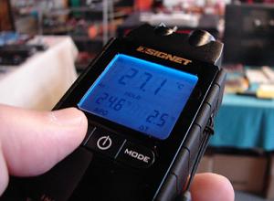 SIGNET赤外線放射温度計
