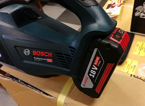 BOSCHコードレスクリーナー