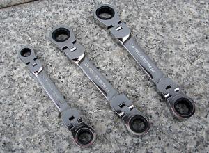 SK11ショートダブルフレックスギアレンチ3本セット