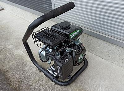 蔵王産業エンジン式高圧洗浄機ポンプ交換